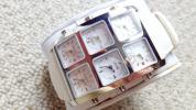 アイスリンクICELINK6TIMEZONE白ステンレス正規品新品