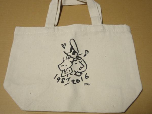 [グッズ] Theピーズ 29周年 ミニ・トートバッグ (非売品)