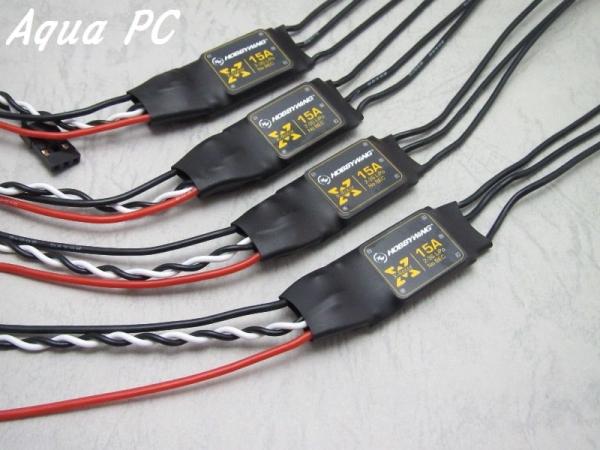 AquaPC★Mini Quad LDP 2204/2300KV 15A ESC ElectronicsPacka★