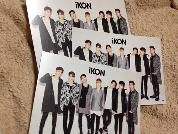 iKON 会場限定特典BIGポストカード新品!3枚セット