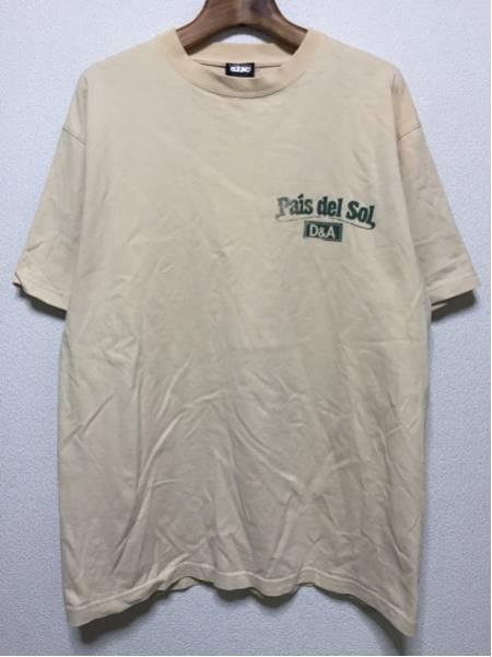 [即決古着]MOB SQUAD/Pais del sol/Dragon Ash/Tシャツ/ベージュ