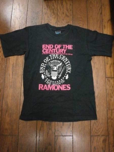 RAMONES★END OF THE CENTURY 映画Tシャツ 実寸XS★ラモーンズ