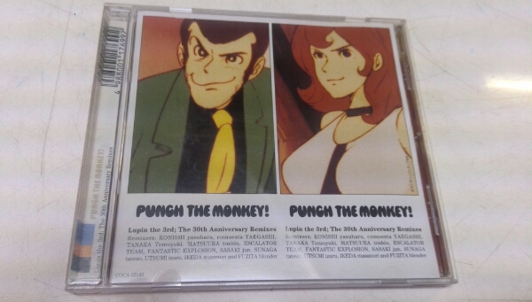PUNCH THE MONKEY!Lupin the 3rd;The 30th Anniversar CD  ヌ_画像1