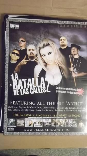 ☆LA BATALLA DE LAS CALLES2のアルバムポスター