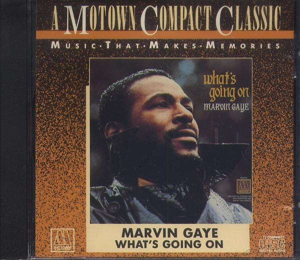 CD マーヴィン・ゲイ MARVIN GAYE WHAT'S GOING ON_画像1