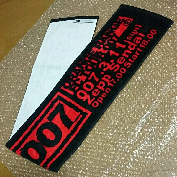 希少★レア ORANGE RANGE オレンジレンジ 2007 タオル Zepp仙台