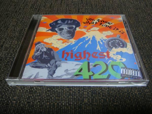 廃盤!420FAMILY『420(MUNCHEES TIME)』韻踏合組合 SHINGO★西成 22 BAKA de GUESS? TERRY THE AKI-06_画像1