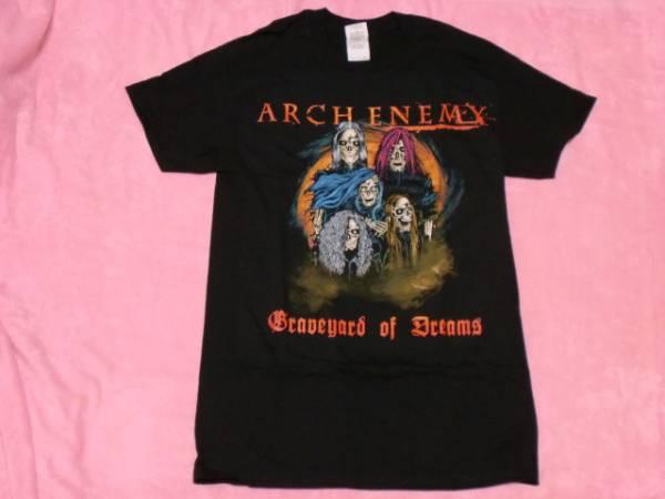 ARCH ENEMY アーチ エネミー ロックT バンドT S ツアーTシャツ
