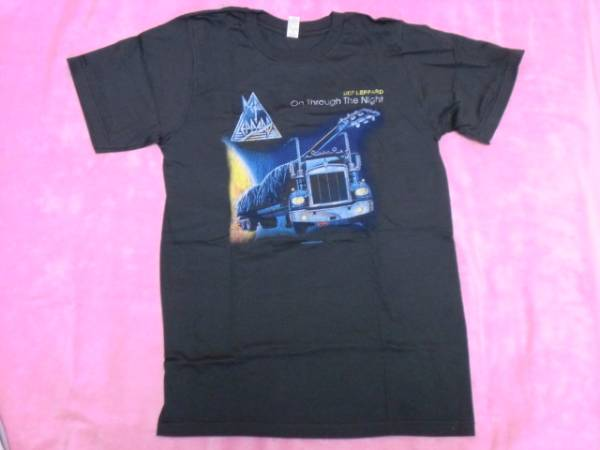 DEF LEPPARD デフ レパード Tシャツ S バンドT ロックT NWOBHM