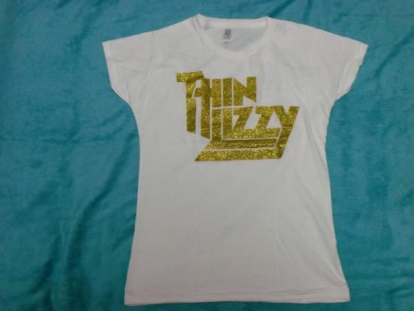 THIN LIZZY シン リジィ Tシャツ 女性用 S バンドT ロックT