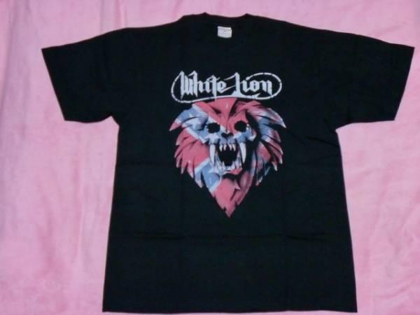 WHITE LION ホワイト ライオン Tシャツ S バンドT ロックT RATT WARRANT DOKKEN