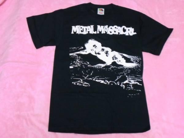 METAL BLADE Tシャツ S メタルブレイド ロックT バンドT メタル マサカー Metallica