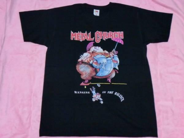 METAL CHURCH メタル チャーチ Tシャツ M バンドT ロックT Metallica