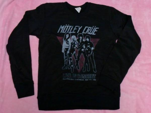 MOTLEY CRUE モトリー クルー スウェット 女 S バンドT ロックT