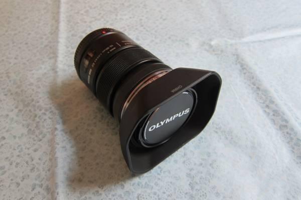 オリンパス ED 12-50MM F3.5-6.3EZ フード付 ブラック