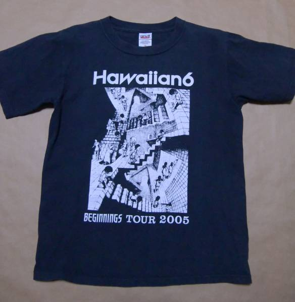 Hawaiian6 BEGINNINGS TOUR 2005 Tシャツ