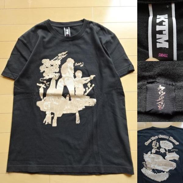 美品【KTM】ケツノポリス 半袖Tシャツ 黒 S(ケツメイシ,さくら)