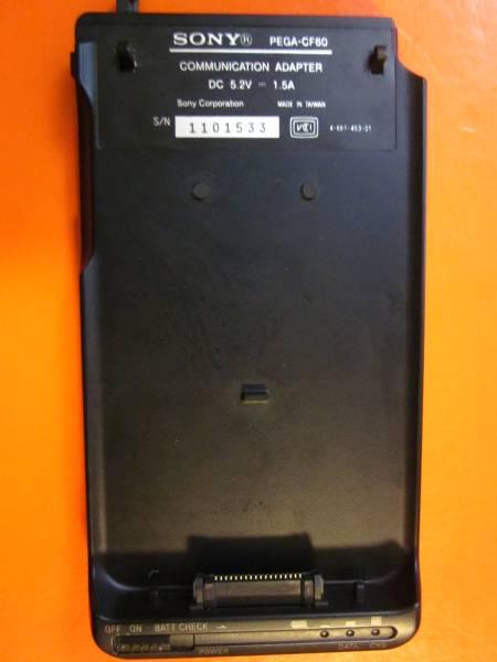 CLIE PEG-T400、600他用通信アダプター PEGA-CF60_画像1