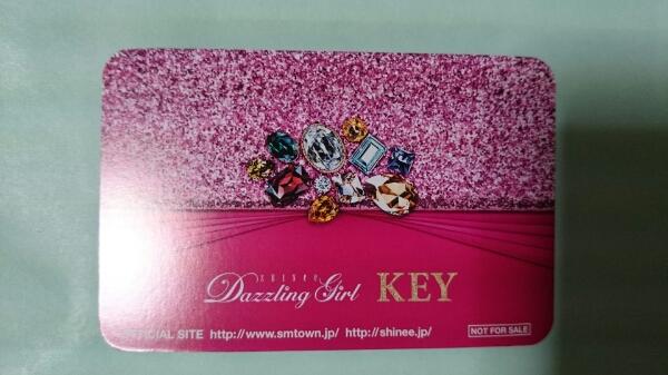 SHINee Key Dazzling Girl トレカ 即決 キー キボム シャイニー トレーディングカード 日本盤 フォトカード_画像2