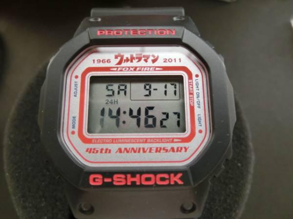 ジーショック ウルトラマン 45周年 DW-5600VTUMAN-1TJR 未使用品