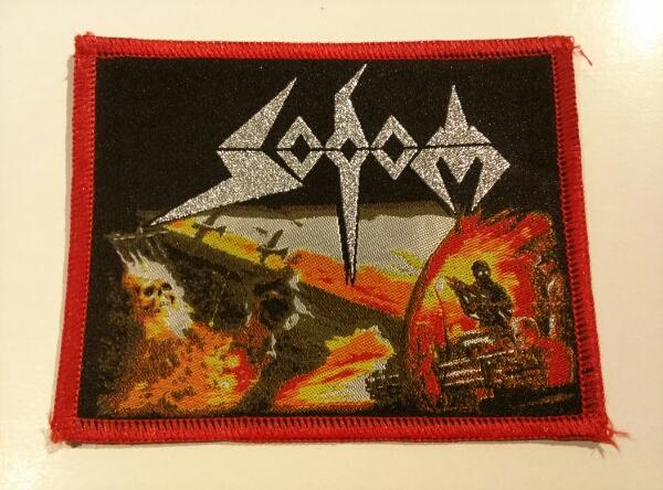 SODOM 刺繍パッチ ワッペン agent / metallica kreator slayer