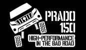 ランクル プラド 150 後期 カッティングステッカー クロカン 4WD トヨタ ランドクルーザー リフトアップ パーツ オフロード ステンシル