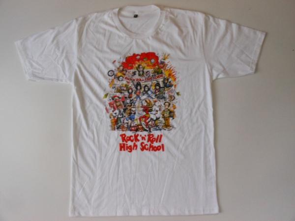 ★新品★ラモーンズ≪ROCK'N ROLL HIGH SCHOOL≫Tシャツ★パンク