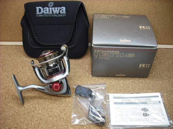 TEAM DAIWA IGNIS 2506 バサート付 キズ有-展示品 【送料無料】_付属品等お送りする全てになります