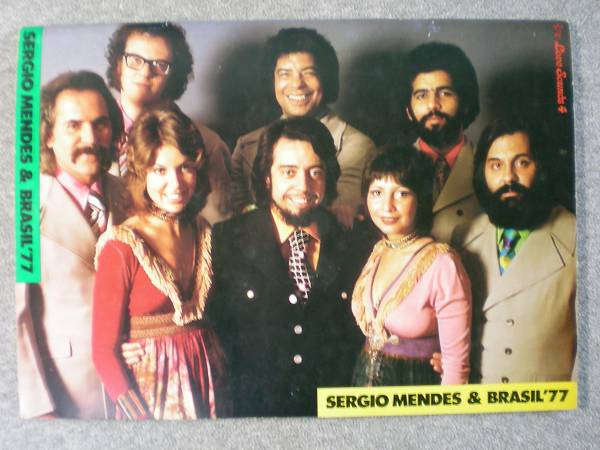 貴重パンフレット 「セルジオメンデス&ブラジル77」 1972年 来日公演品