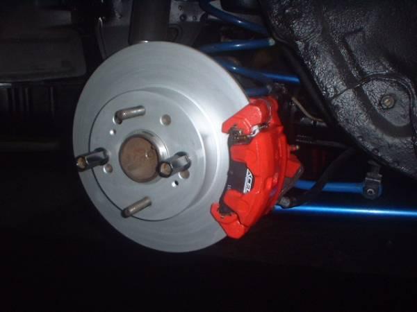 ☆AE86 N2 AE101 AE111 リアキャリパー変換KIT 280Φ大径専用ブレーキローター付き!ブレーキ制動性能UP&熱害による耐久性向上に☆_画像1