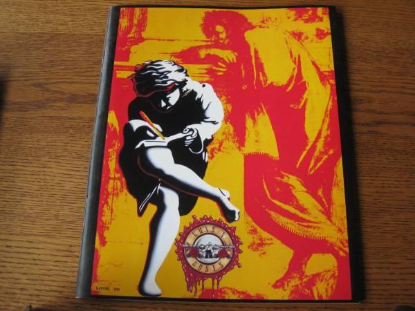 ガンズ&ローゼズ(Guns N' Roses)USE YOUR ILLUSION/パンフ2冊