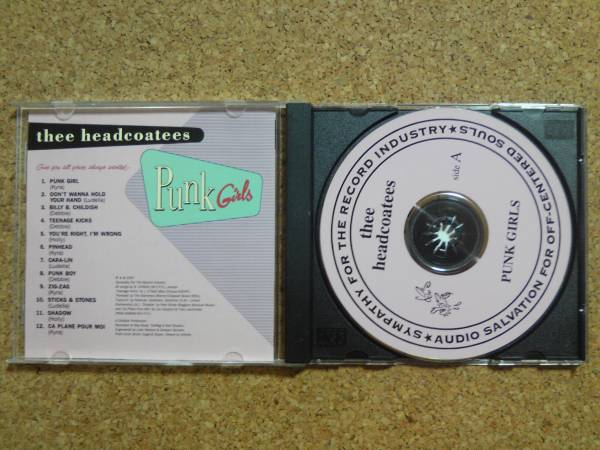 The Headcoatees - Punk Girls ガレージ レアCD_画像2