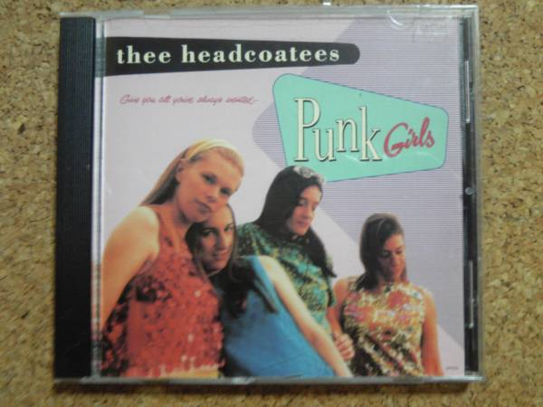 The Headcoatees - Punk Girls ガレージ レアCD_画像1