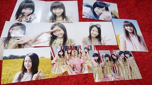 東京女子流 正規品生写真たくさん10種類 ライブグッズの画像