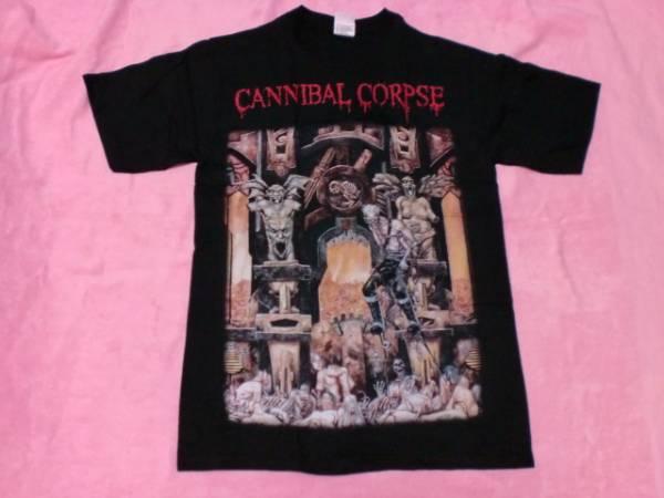 CANNIBAL CORPSE カンニバル コープス Tシャツ ロックT バンドT ツアーT S