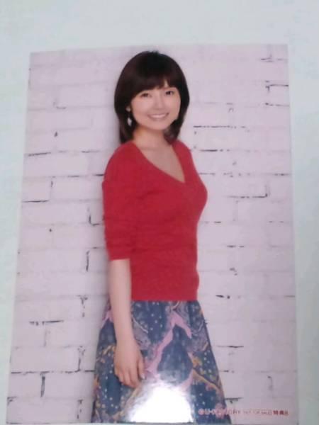 安倍なつみ★2014★カレンダー 特典★L判生写真★非売品★送料無料