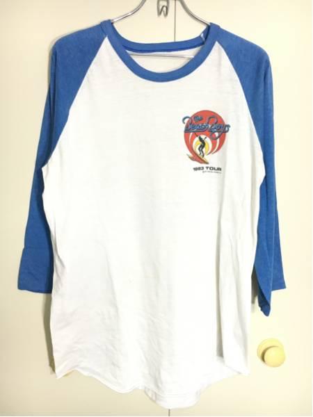 ビーチボーイズ THE BEACH BOYS Tシャツ 1983 WORLD TOUR