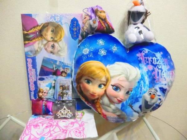 アナと雪の女王 セット つめこみ福袋③ 9点入 アナ雪 ディズニーグッズの画像