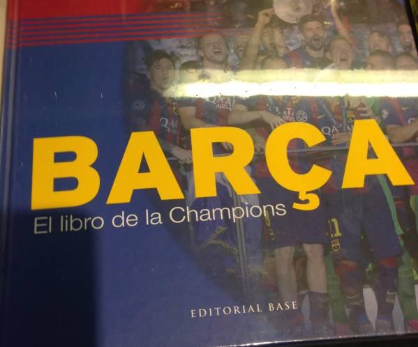 FCバルセロナ チャンピオンズリーグ写真集&DVD(oficial新品) グッズの画像