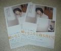 映画チラシ「暗いところで待ち合わせ」2枚:田中麗奈