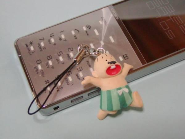 携帯ストラップ デカパン もーれつア太郎 おそ松くん 赤塚不二夫 グッズの画像