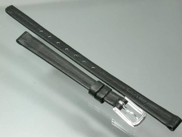 【即決】 7mm黒カーフバンド新品C-05牛皮革BAMBI_画像2