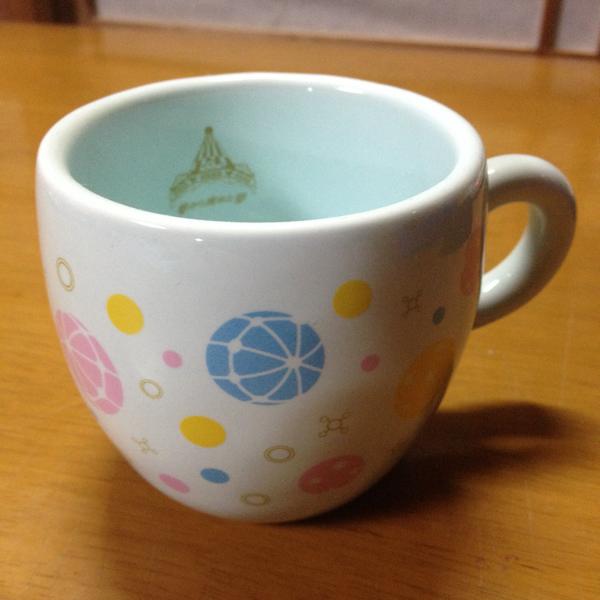 【美品】夢から醒めた夢 マグカップ ブルー(水色)