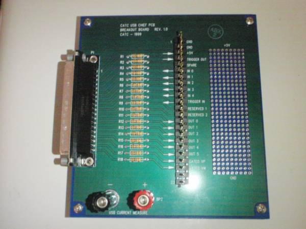 C030 CATC made External Interface Breakout Board