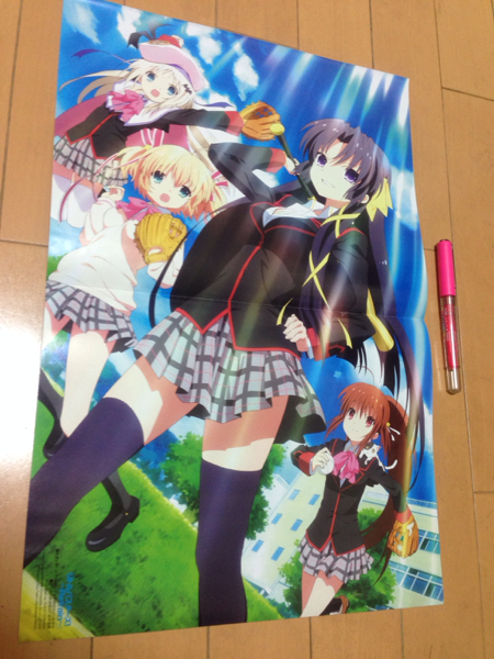 middle two sick also .. want to do!* Little Busters * both sides (N1311)