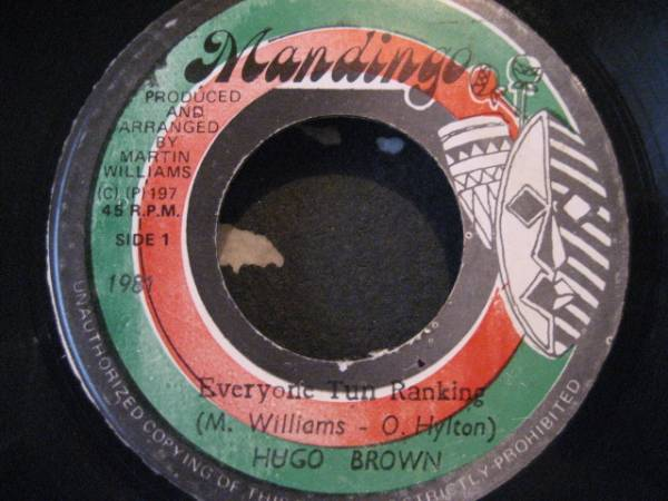 ■Hugo Brown/Everyone Tun Ranking■KILLER ROOTS!