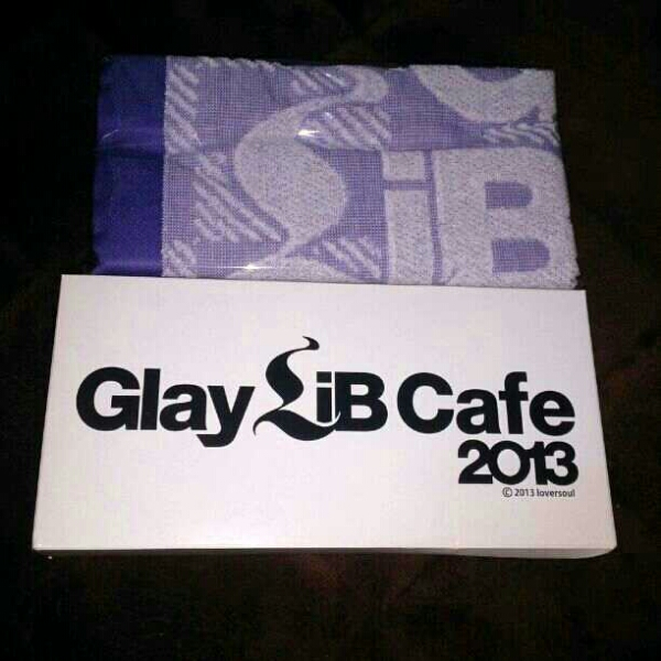 ★GLAY LiB CAFE 2013 HISASHI タオル クレーンゲーム♪