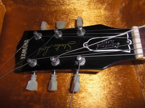 YAMAHA 名機 SL-550S Studio Load 極上品 Japan Vintage バイサウンド JV 国産 レスポール スタンダード ヤマハ Gibson Les Paul Standard_画像2