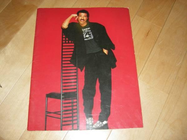 ライオネル・リッチー / LIONEL RICHIE/ツアーパンフレット1987
