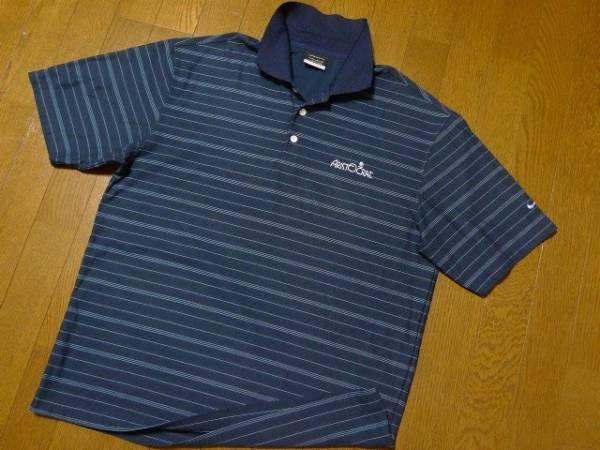SALE M(US)XL位 超希少 ナイキゴルフ USA限定 特注刺繍 NIKE GOLF 美品 ポロシャツ 日本未発売2L LL O位_画像2